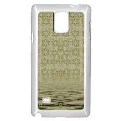 Shooting Stars Over The Sea Of Calm Samsung Galaxy Note 4 Case (white)