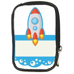 Rocket Spaceship Clip Art Clipart Compact Camera Cases