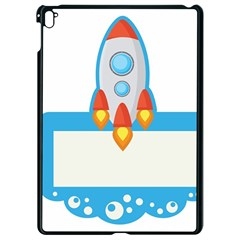 Rocket Spaceship Clip Art Clipart Apple Ipad Pro 9 7   Black Seamless Case