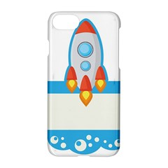 Rocket Spaceship Clip Art Clipart Apple Iphone 8 Hardshell Case