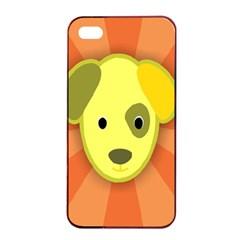 Adoption Animal Bark Boarding Apple Iphone 4/4s Seamless Case (black)