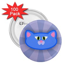 Advertise Animal Boarding Cat 2 25  Buttons (100 Pack)