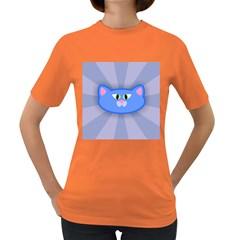 Advertise Animal Boarding Cat Women s Dark T Shirt