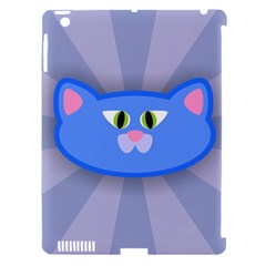 Advertise Animal Boarding Cat Apple Ipad 3/4 Hardshell Case (compatible With Smart Cover)