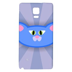 Advertise Animal Boarding Cat Galaxy Note 4 Back Case