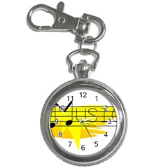 Music Dance Abstract Clip Art Key Chain Watches