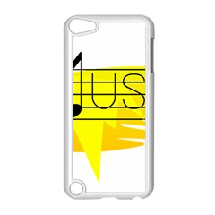 Music Dance Abstract Clip Art Apple Ipod Touch 5 Case (white)