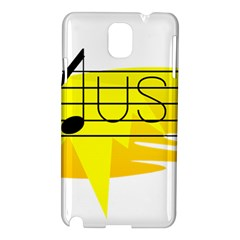 Music Dance Abstract Clip Art Samsung Galaxy Note 3 N9005 Hardshell Case