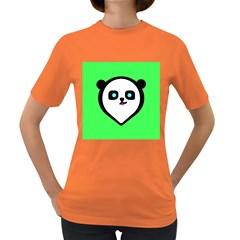 Panda Bear Women s Dark T Shirt
