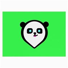 Panda Bear Large Glasses Cloth