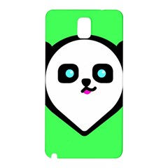 Panda Bear Samsung Galaxy Note 3 N9005 Hardshell Back Case