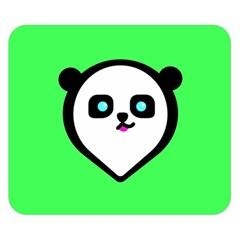 Panda Bear Double Sided Flano Blanket (small)