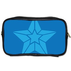Star Design Pattern Texture Sign Toiletries Bags 2 Side