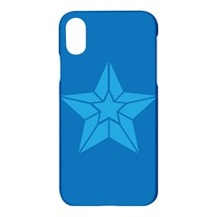 Star Design Pattern Texture Sign Apple Iphone X Hardshell Case