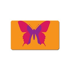 Butterfly Wings Insect Nature Magnet (name Card)