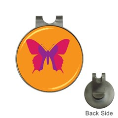 Butterfly Wings Insect Nature Hat Clips With Golf Markers