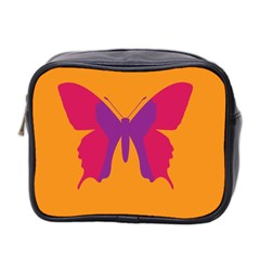 Butterfly Wings Insect Nature Mini Toiletries Bag 2 Side