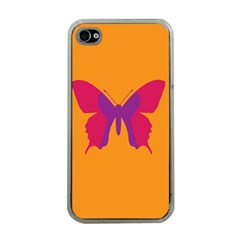 Butterfly Wings Insect Nature Apple Iphone 4 Case (clear)