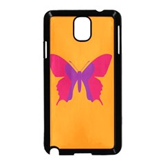 Butterfly Wings Insect Nature Samsung Galaxy Note 3 Neo Hardshell Case (black)