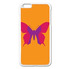 Butterfly Wings Insect Nature Apple Iphone 6 Plus/6s Plus Enamel White Case