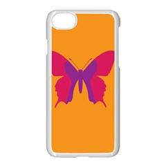 Butterfly Wings Insect Nature Apple Iphone 8 Seamless Case (white)