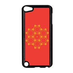 Pentagon Cells Chemistry Yellow Apple Ipod Touch 5 Case (black)
