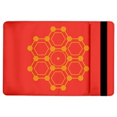 Pentagon Cells Chemistry Yellow Ipad Air 2 Flip