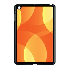 Abstract Orange Yellow Red Color Apple Ipad Mini Case (black)