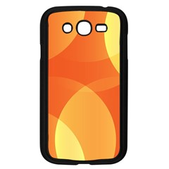 Abstract Orange Yellow Red Color Samsung Galaxy Grand Duos I9082 Case (black)