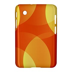 Abstract Orange Yellow Red Color Samsung Galaxy Tab 2 (7 ) P3100 Hardshell Case