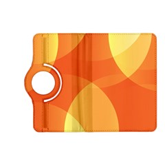 Abstract Orange Yellow Red Color Kindle Fire Hd (2013) Flip 360 Case