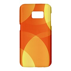 Abstract Orange Yellow Red Color Samsung Galaxy S7 Hardshell Case