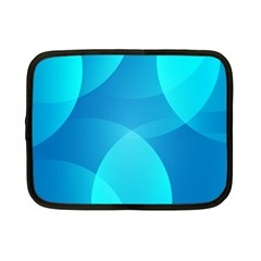 Abstract Blue Wallpaper Wave Netbook Case (small)