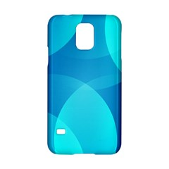 Abstract Blue Wallpaper Wave Samsung Galaxy S5 Hardshell Case