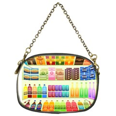 Supermarket Shelf Products Snacks Chain Purses (one Side)