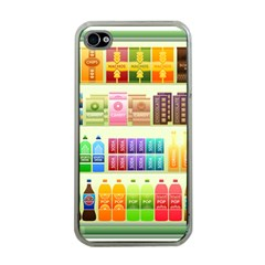 Supermarket Shelf Products Snacks Apple Iphone 4 Case (clear)