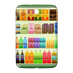 Supermarket Shelf Products Snacks Samsung Galaxy Note 8 0 N5100 Hardshell Case