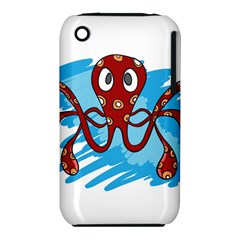 Octopus Sea Ocean Cartoon Animal Iphone 3s/3gs