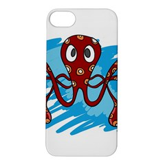 Octopus Sea Ocean Cartoon Animal Apple Iphone 5s/ Se Hardshell Case