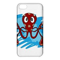 Octopus Sea Ocean Cartoon Animal Apple Iphone 5c Hardshell Case
