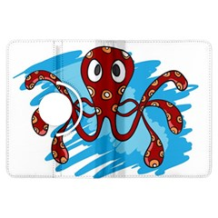 Octopus Sea Ocean Cartoon Animal Kindle Fire Hdx Flip 360 Case