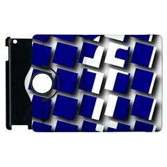 Facebook Social Media Network Blue Apple Ipad 3/4 Flip 360 Case