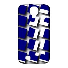 Facebook Social Media Network Blue Samsung Galaxy S4 Classic Hardshell Case (pc+silicone)