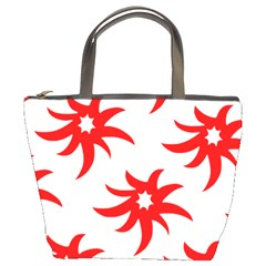 Star Figure Form Pattern Structure Bucket Bags