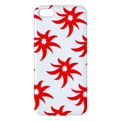Star Figure Form Pattern Structure Apple Iphone 5 Premium Hardshell Case