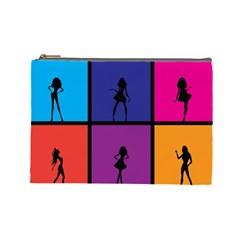 Girls Fashion Fashion Girl Young Cosmetic Bag (large)