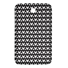 Heart Black Chain White Samsung Galaxy Tab 3 (7 ) P3200 Hardshell Case