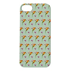 Birds Hummingbirds Wings Apple Iphone 5s/ Se Hardshell Case