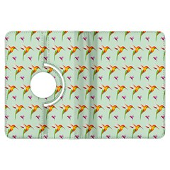 Birds Hummingbirds Wings Kindle Fire Hdx Flip 360 Case