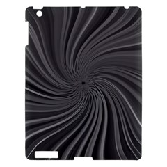 Abstract Art Color Design Lines Apple Ipad 3/4 Hardshell Case